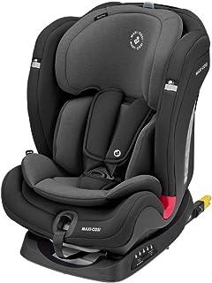 Maxi-Cosi Titan Plus, mitwachsender Kindersitz mit ISOFIX, ClimaFlow Funktion und Liegeposition, Gruppe 1/2/3 Autositz 9-36 kg nutzbar ab ca. 9 Monate bis 12 Jahre, Authentic Black schwarz