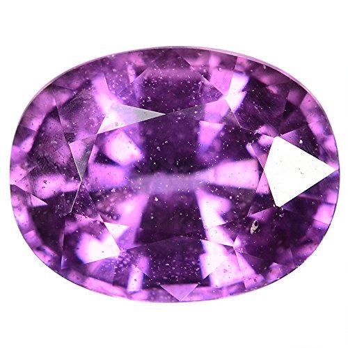 アフリカ 紫 サファイア ・ルース 1.96 Ct. GLC認定証付き