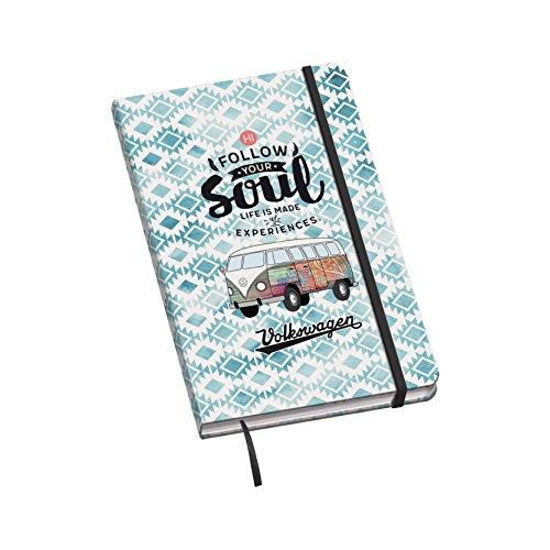 Dohe Vesta Volkswagen - Cuaderno con diseño Soul, A5