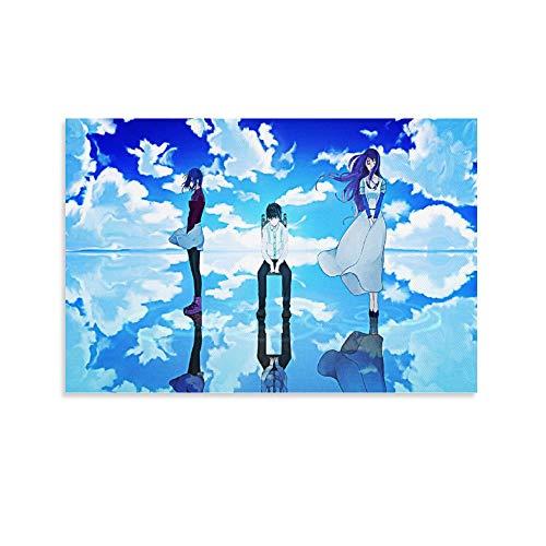 Anime Tokyo Ghoul - Poster decorativo su tela, per soggiorno, camera da letto, 50 x 75 cm