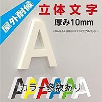 立体文字・カルプ文字・カッティング 厚み10mm (文字の高さ20㎝)
