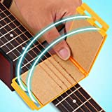 Accesorio de instrumento conveniente para cualquier técnico de guitarra para guitarra acústica(Golden)
