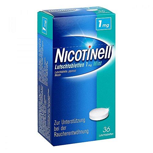 Nicotinell Lutschtabletten 1 mg Mint, 36 St. – Diskrete Unterstützung bei der Raucherentwöhnung