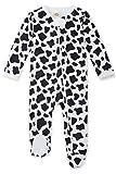 Fanient Newborn Footed Sleepers Rompers Baby Girls Boys Pajamas Casual Snug Fit Non-Slip Sleep and Play Sleepwear 6-9 Months