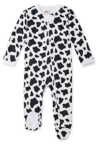Fanient Toddler Romper Pajamas Infants Baby Fit Footed Sleepers Funny 3D Print Long Sleeve Sleepwear Coverall for Spring Winter Holiday