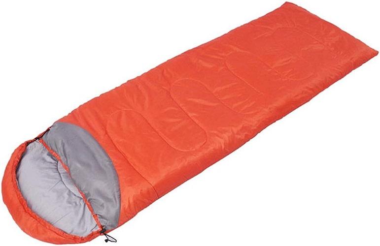 Qys Sac de Couchage de Camping Sac à Dos pour Adultes léger avec Sac de Compression