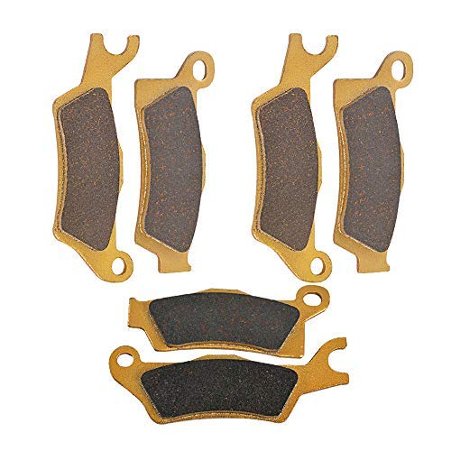 Motorrad vorne und hinten Bremsbeläge for CAN AM Outlander L 450 500 650 800 1000 EFi & Max Renegade 500 800 1000 R STD XXC 12-16