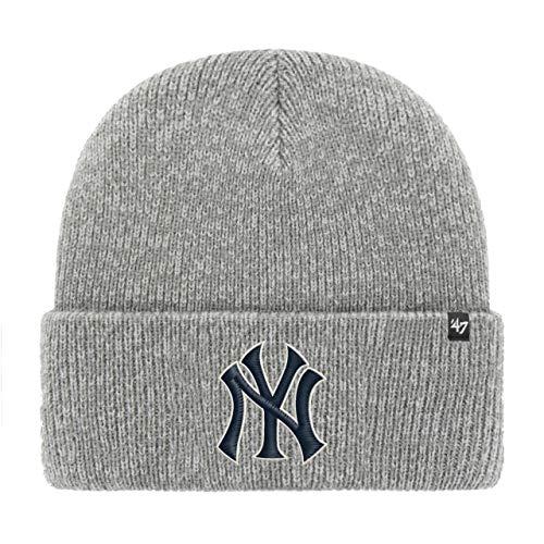 '47 Brand Knit Beanie - Freeze New York Yankees Grey