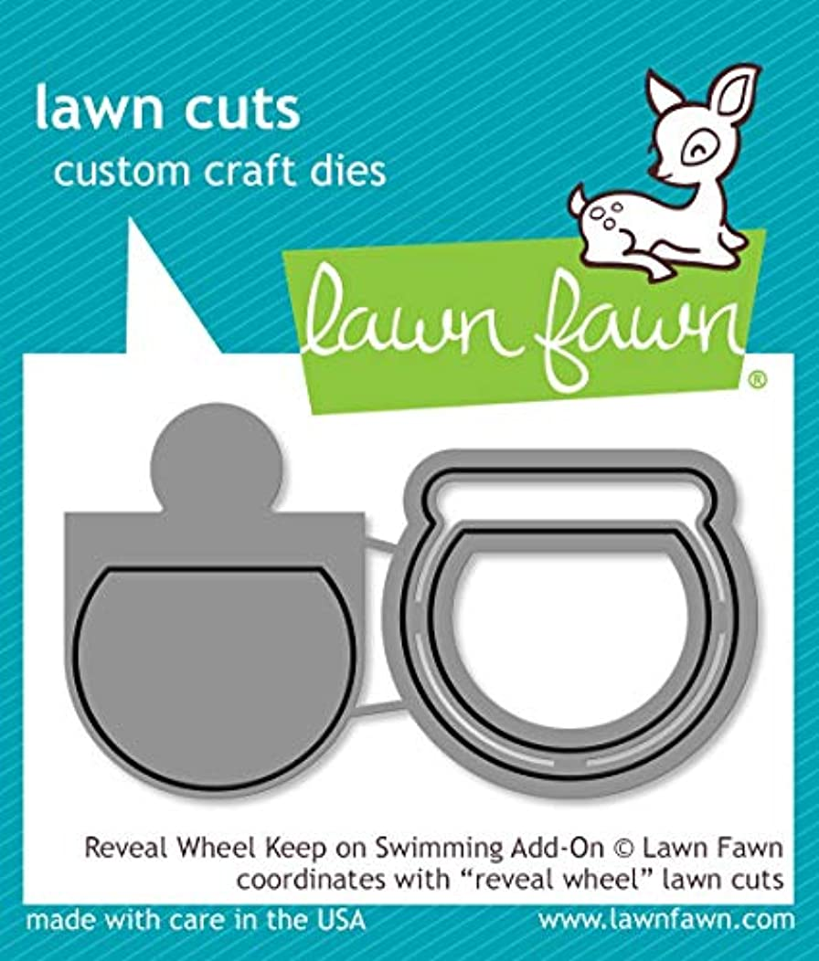 Lawn Fawn LF1957 Reveal Wheel Keep On Swimming Add-On Custom Craft Dies
