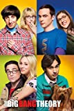The Big Bang Theory - Mosaik - Poster Kino Movie TV-Serie -