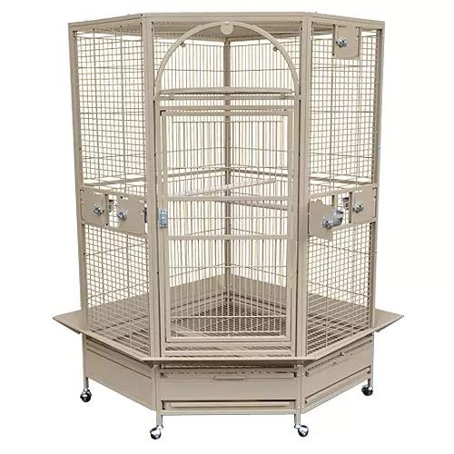 King's Cages GC 14022 Corner Parrot CAGE Bird...