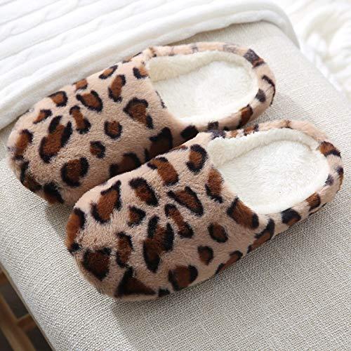 Zapatillas De Algodón, Zapatillas De Interior Cálidas, Zapatillas De Suelo para El Hogar para Mujeres Y Hombres, Zapatos Suaves para Amantes De La Casa, Tobogan