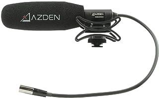 Azden SGM-250MX Professional Compact Cine Shotgun Microphone with Mini XLR Output