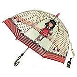 Gorjuss Paraguas Transparente Adulto Largo 65cm de...