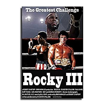 UBMY Rocky III  1982  Movie Poster - Sylvester Stallone Talia Shire Burt Young 24×36inch 60×90cm