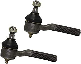 Detroit Axle - Pair (2) Front Inner Tie Rod Ends Driver and Passenger Side for 4x4 ONLY - 1983-1998 Chevy Chevrolet Blazer S10 4WD