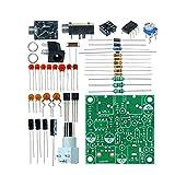 ZRYYD 1 Set DIY Radio 40M CW Transmisor Corto de Onda Corta QRP Pixie Kit Receptor 7.023-7.026MHz Transmisor de Onda Corta DC 9V-14V En Stock