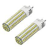 MENGS Pack de 2 G12 Bombillas LED 10W Equivalente 80W Halógena Lámpara LED AC 85-265V, Blanco Frío 6000K, 800lm Luz LED