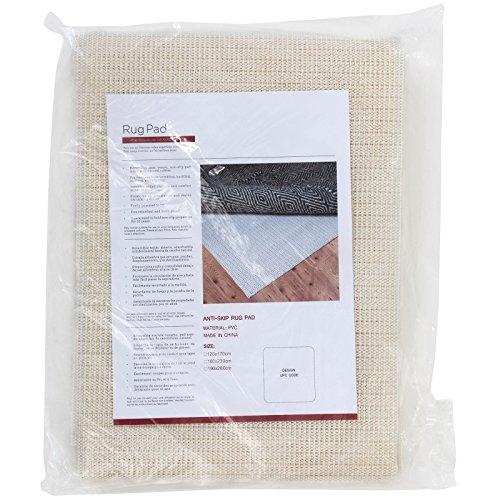 Rugs Pad Teppichunterlage Antirutschmatte Untergrund für Teppich Harte Holz Böden rutschfest, 160x230cm