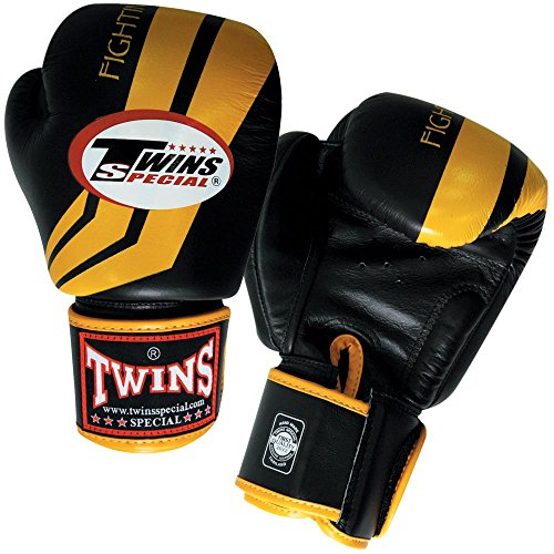 Twins Special Boxing Gloves BGVL-3 Black 8-10-12-14-16 Oz.