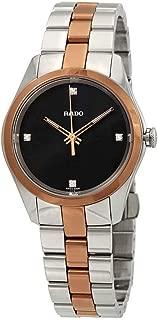 Rado Women's HyperChrome Black Diamond Dial Watch R32976722