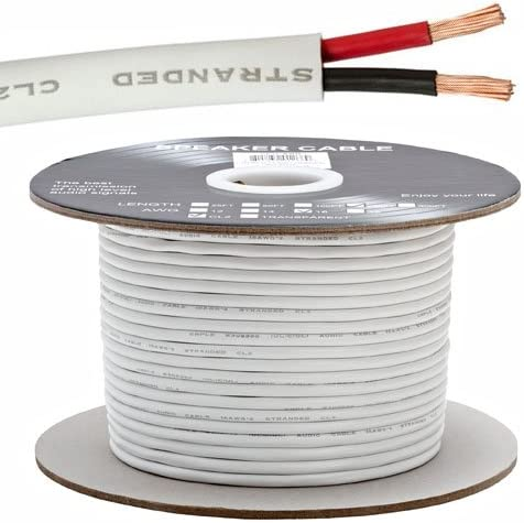Popular product 16AWG CL2 Rated 2 Conductor Loud in-Wall Max 87% OFF for 250ft Cable Speaker