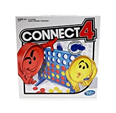 Twist on the classic connect 4 game: This edition of the connect 4 game brings a Different twist to the classic strategy game that kids and adults have loved for generations Features blue Blocker Disc: This game includes blue Blocker Disc that open d...