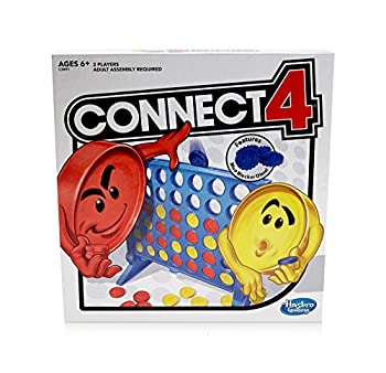 Connect 4 Strategy Board Game for Ages 6 and Up  Amazon Exclusive