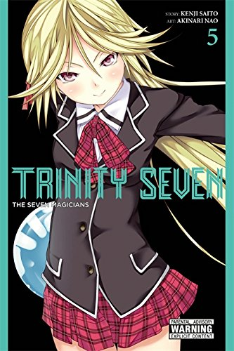 Trinity Seven, Vol. 5: The Seven Magicians