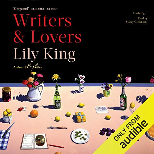 Writers & Lovers audiobook cover art