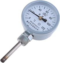 Agua/Aceite Tubo Acero Inoxidable Dial Termómetro Indicador De Temperatura