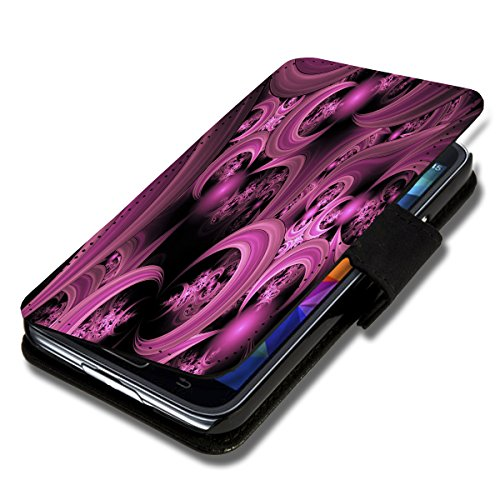 Book Style Flip Handy Tasche Hülle Schutz Hülle Schale Motiv Foto Etui für Huawei Ascend G525 - A50 Design5
