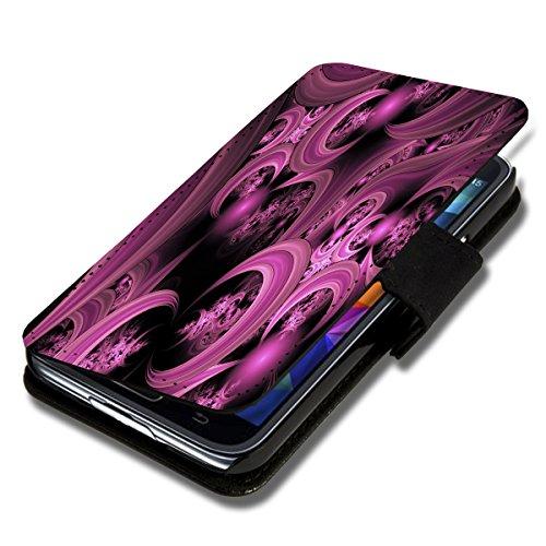 Book Style Flip Handy Tasche Hülle Schutz Hülle Schale Motiv Etui für Wiko Stairway - Flip 1A50 Design5
