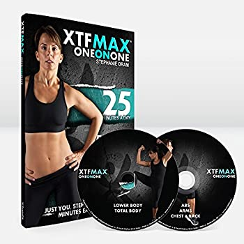 XTFMAX One on One  30 Day DVD Workout Program with 5 Exercise Videos + Training Calendar