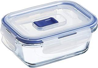 Luminarc Pure Box Active - Boîte de Conservation hermétique en verre, rectangulaire 0,38 L