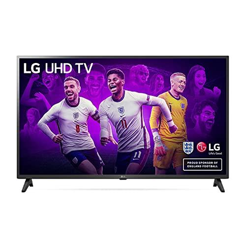 LG 43UP7500LF - Smart TV 4K UHD 108 cm (43') con Procesador Quad Core, HDR10 Pro, HLG, Sonido Virtual Surround, HDMI 2.0, USB 2.0, Bluetooth 5.0, WiFi