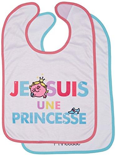 BabyToLove Set 2 Bavoirs Deuxième Age Madame Bonheur/Princesse