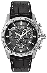Comes with a 5 Year Citizen UK Warranty Citizen eco-drive is fuelled by light, any light and never needs a battery Precise quartz movement and atomic timekeeping Protective sapphire glass window lens Water resistance up to 200 meters.Case Size 42mm C...