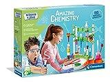 Clementoni- Science and Play - Amazing Chemistry - Kit de Ciencias - Laboratorio y esperimento para niños a Partir de 8 años - Made in Italy, (versión Inglesa), Multicolor (61728)