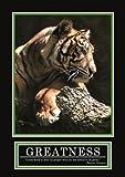 GREAT ART Greatness Poster Original Barney Stinson