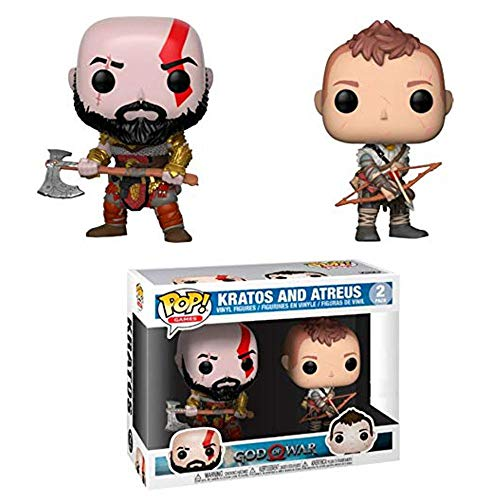 Funko God of War (2018) - Kratos & Atreus Pop! Vinyl, 2 Pack