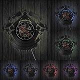 decoración del hogar Vintage Tatuaje Personalizado Disco de Vinilo Reloj de Pared Pedido Personalizado Su diseño Su Logotipo Su Imagen Tienda de Tatuajes Personalizada Reloj de Vinilo