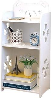 Armoires De Fichiers Verticales Stockage Maison en bois étagère, 2-3 Niveau Bibliothèque Cube Étagère Cabinet autoportant ...