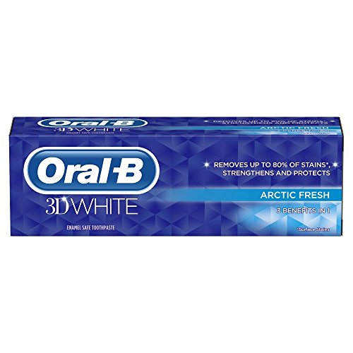 Oral-B 3D White Arctic Fresh Toothpaste - Pack of 3