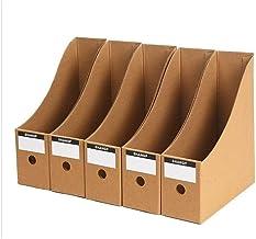 Eco-Friendly Cardboard Organizer Box Office File Box Holder Boek Storage Box Table Home Storage Organisatie Opslag Planken...