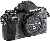 Olympus OM-D E-M10 Mark II cámara de Sistema Micro Cuatro Tercios, 16 megapíxeles, estabilizador de Imagen de Cinco Ejes, Visor electrónico, Negro