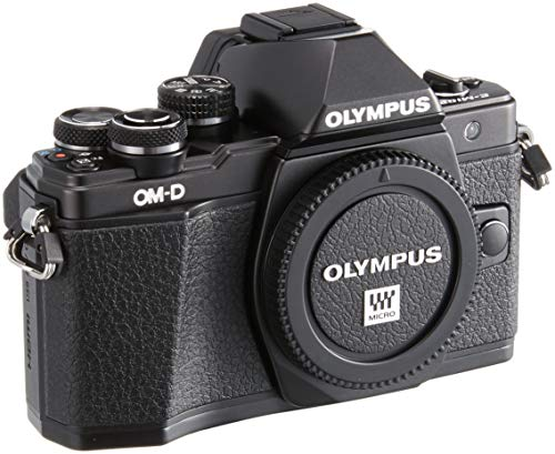Olympus E-M10 Mark-II - Cámara Evil de 16.1 MP (Pantalla 3', estabilizador óptico, vídeo Full HD, WiFi) Color Negro
