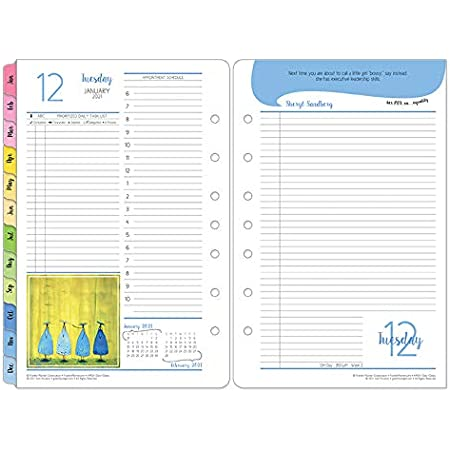 Jan 2021 FranklinCovey Classic Original Daily Ring-Bound Planner Dec 2021