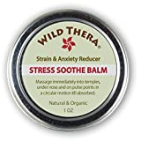 Wild Thera Natural Anxiety Relief. Herbal Stress Relief for Adrenal Stress Support, Sadness, Adrenal Fatigue, Social Anxiety. Can be Used with Stress Ball, Anxiety Pills, Stress Toys & Aromatherapy