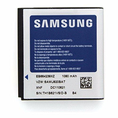 Samsung Original Genuine OEM Samsung Reality U820 1080mAh Spare Replacement Li-ion Battery - Non-Retail Packaging - Silver